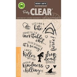 Hero Arts - Clear Stamp - Killer Messages