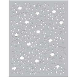 Hero Arts - Fancy Die - Cloud & Raindrop Confetti