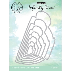 Hero Arts - Infinity Dies - Nesting Tea Cups