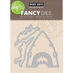 Hero Arts - Fancy Die - Paper Layering Shark