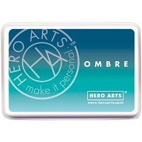 Hero Arts - new Ombre Inks and embossing powders