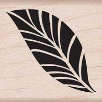 Hero Arts - Wood Mounted Rubber Stamp - Tropical Leaf