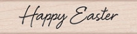 Hero Arts - Wood Mounted Rubber Stamp - Happy Easter