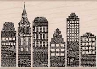 Hero Arts - Wood Mounted Rubber Stamp - Skyline