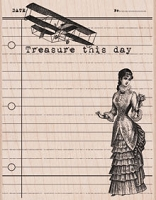 Hero Arts - Wood Mounted Rubber Stamp - Treasure This Day