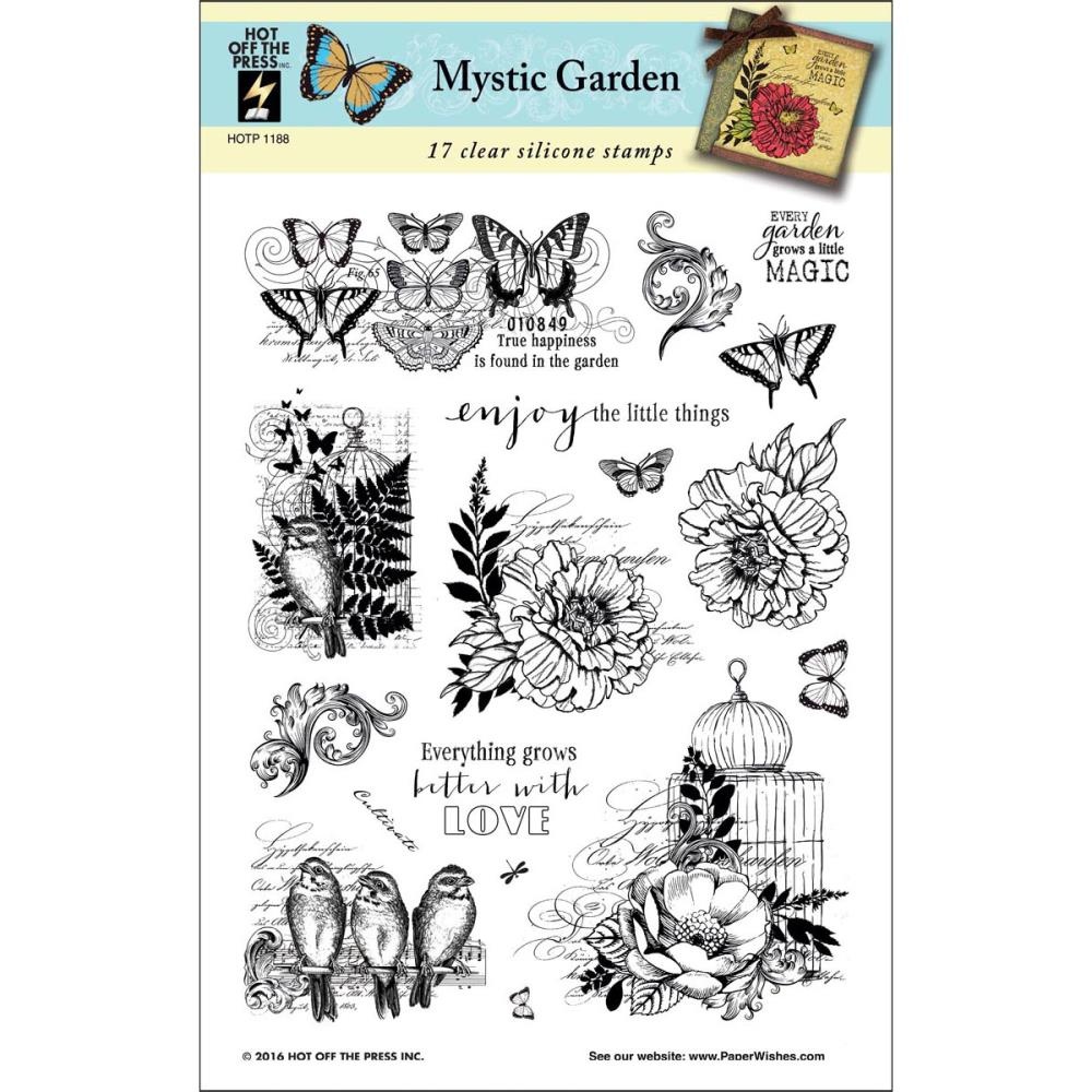 Hot Off the Press - 9 new clear stamps
