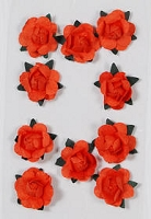 Hot Off The Press - Mini paper flowers