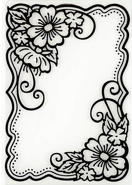 Hot off the Press Embossing Folder