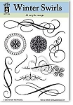 Hot off the Press-Clear Stamps-Winter Swirls