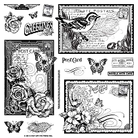 Hot Off The Press - Clear Stamps