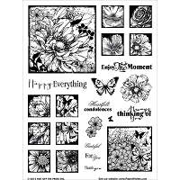 Hot Off The Press - new clear stamps