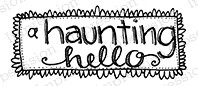 Impression Obsession - Cling Mounted Rubber Stamp - By Lindsay Ostrom - Haunting Hello