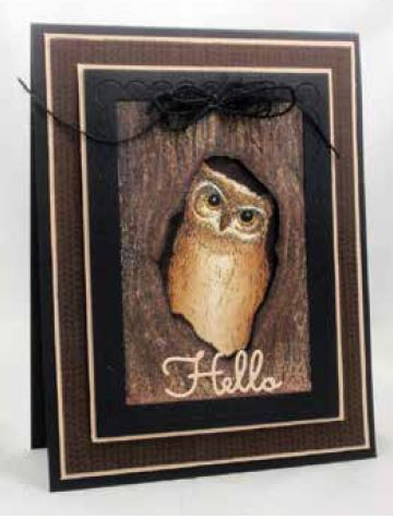 Impression Obsession Cling Mounted Rubber Stamp By