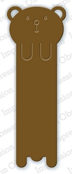 Impression Obsession - Die - Bear Bookmark