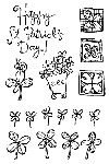 Impression Obsession Clear Stamp - St. Patricks Day