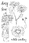 Impression Obsession Clear Stamp - Daisy Love
