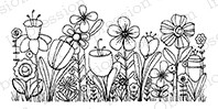 Impression Obsession - Cling Mounted Rubber Stamp - By Lindsay Ostrom - Joy's Flower Field