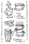 Impression Obsession Clear Stamp - Espresso Yourself