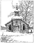 Impression Obsession-Cling Stamp-Winter Church