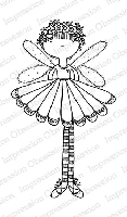 Impression Obsession - Cling Mounted Rubber Stamp - By Lindsay Ostrom - Fairy Sweet