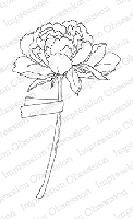 Impression Obsession - Cling Mounted Rubber Stamp - By Alesa Baker - Picked Peony