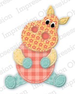 Impression Obsession - Die - Patchwork Hippo