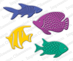 Impression Obsession - Die - Fish Set