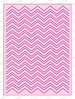 Impression Obsession - Die - Chevron Adapt-a-Background