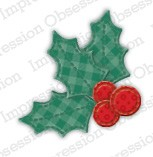 Impression Obsession - Die - Patchwork Holly