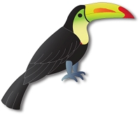 In The Making - Dee's Distinctively Die - Toucan
