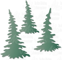 In The Making - Dee's Distinctively Die - Pine Tree Set