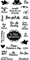 Inkadinkado - Clear Stamp Set - You and Me