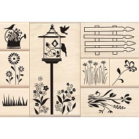 Inkadinkado - wood mounted & cling mounted stamps