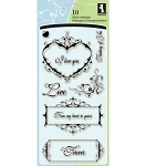 Inkadinkado Clear Stamps - Love Letters