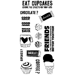 Inkadinkado Clear Stamps - Amy Smyth Eat Cupcakes