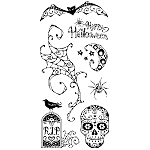 Inkadinkado Clear Stamps - Pattern Play Halloween