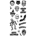 Inkadinkado Clear Stamps - Spooky & Creepy