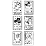 Inkadinkado Clear Stamps - Holiday Greetings