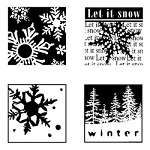 Inkadinkado Clear Stamps - Winter