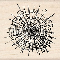Inkadinkado - Wood Mounted Stamp - What a Tangled Web