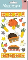 EK Success Jolee's boutique - Dimensional Stickers - Turkey Dinner