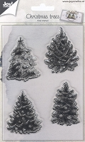 Joy Crafts - Clear Stamps - Christmas Trees