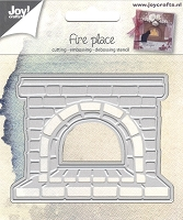Joy Crafts - Cutting & Embossing Die - Fireplace