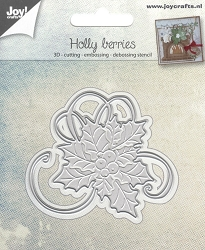 Joy Crafts - Cutting & Embossing Die - Holly Berries