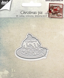 Joy Crafts - Cutting & Embossing Die - Christmas Pie