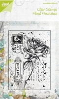 Joy Crafts - 4 gorgeous clear stamps