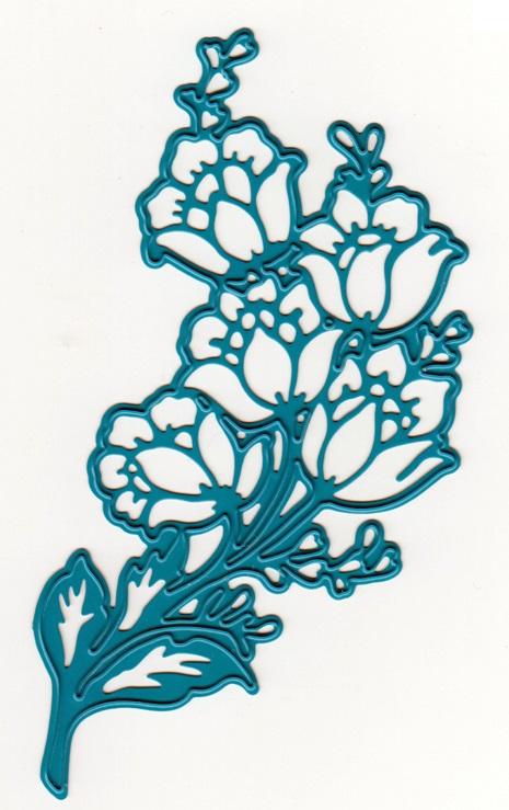 Joy crafts noor cutting embossing die flower corner for Joy craft flower dies