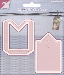 Joy Crafts - Cutting Die - Mery's Slidable Short