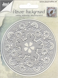 Joy Crafts - Cutting & Embossing Die - Flower Background
