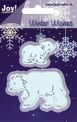 Joy Crafts - Cutting Die - Winter Wishes Polar Bears
